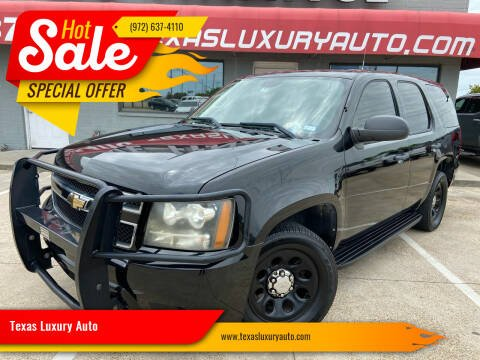 2010 Chevrolet Tahoe for sale at Texas Luxury Auto in Cedar Hill TX