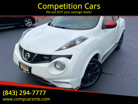 2014 Nissan JUKE for sale at Competition Cars in Myrtle Beach SC