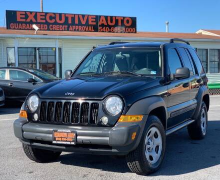 2006 Jeep Liberty for sale at Executive Auto in Winchester VA