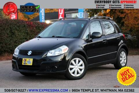 2011 Suzuki SX4 Crossover for sale at Auto Sales Express in Whitman MA