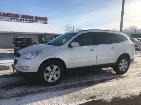 2011 Chevrolet Traverse for sale at BLAESER AUTO LLC in Chippewa Falls WI
