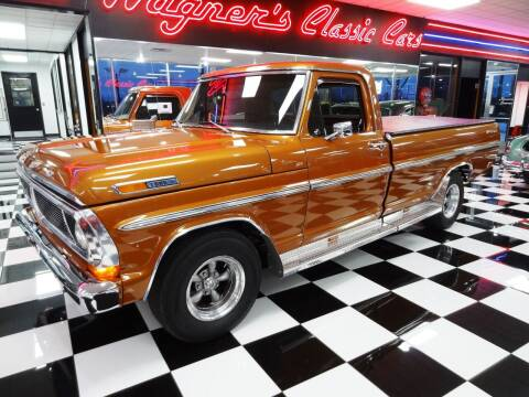 1972 Ford F-100 for sale at Wagner's Classic Cars in Bonner Springs KS