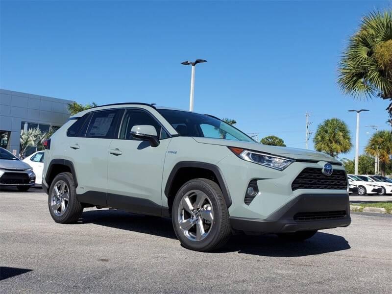 2021 Toyota RAV4 Hybrid for sale in Vero Beach, FL