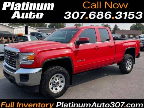 2018 GMC Sierra 2500HD for sale at Platinum Auto in Gillette WY