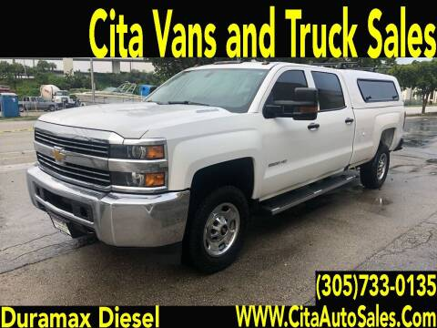 2016 Chevrolet Silverado 2500HD for sale at Cita Auto Sales in Medley FL