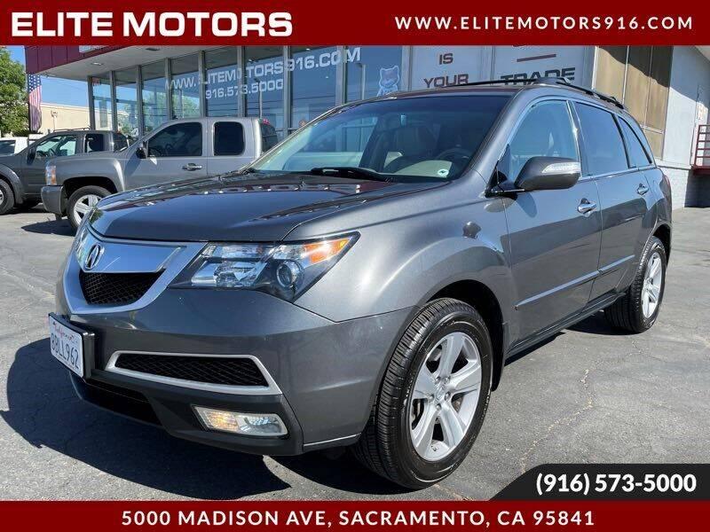 2011 Acura MDX for sale in Sacramento, CA