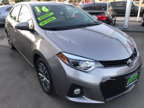2016 Toyota Corolla for sale at CAR GENERATION CENTER, INC. in Los Angeles CA