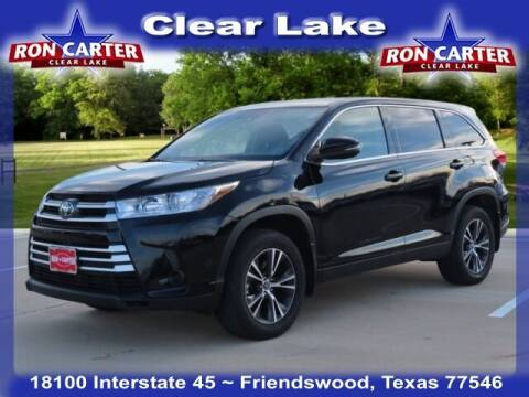 2019 Toyota Highlander for sale at Ron Carter  Clear Lake Used Cars in Houston TX