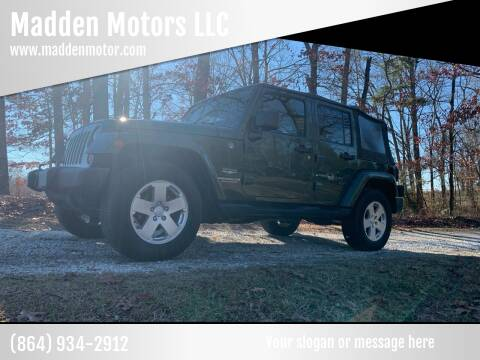 2007 Jeep Wrangler Unlimited for sale at Madden Motors LLC in Iva SC