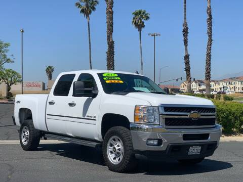 2013 Chevrolet Silverado 2500HD for sale at Esquivel Auto Depot in Rialto CA