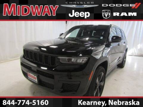 2021 Jeep Grand Cherokee L for sale at MIDWAY CHRYSLER DODGE JEEP RAM in Kearney NE