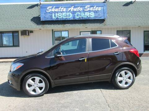 2015 Buick Encore for sale at SHULTS AUTO SALES INC. in Crystal Lake IL