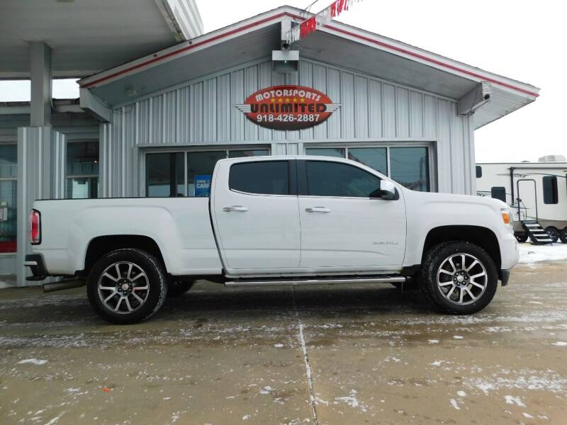 2018 GMC Canyon for sale at Motorsports Unlimited in McAlester OK