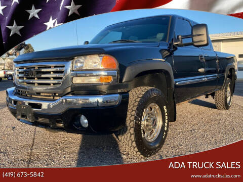 2007 GMC Sierra 2500HD Classic for sale at Ada Truck Sales in Ada OH