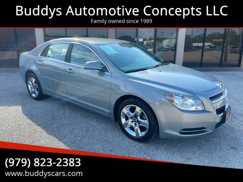 2009 Chevrolet Malibu for sale at Buddys Automotive Concepts LLC in Bryan TX