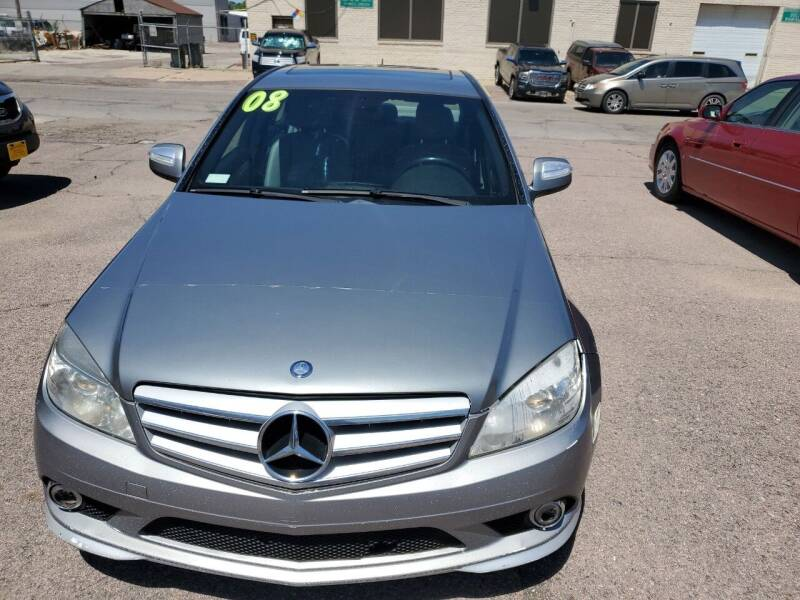 2008 Mercedes-Benz C-Class for sale at Brothers Used Cars Inc in Sioux City IA