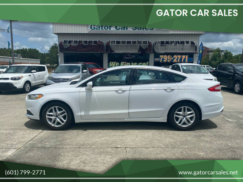 2013 Ford Fusion for sale at Gator Car Sales in Picayune MS