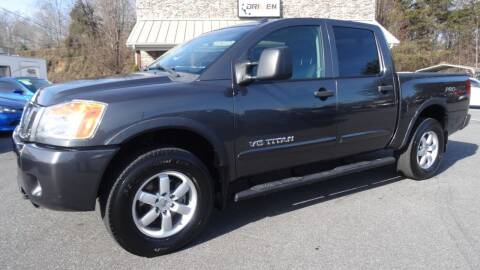2011 Nissan Titan for sale at Driven Pre-Owned in Lenoir NC