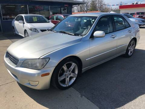 2002 Lexus IS 300 for sale at Wise Investments Auto Sales in Sellersburg IN