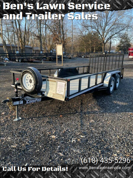 2021 Corn Pro UT-18L for sale at Ben's Lawn Service and Trailer Sales in Benton IL