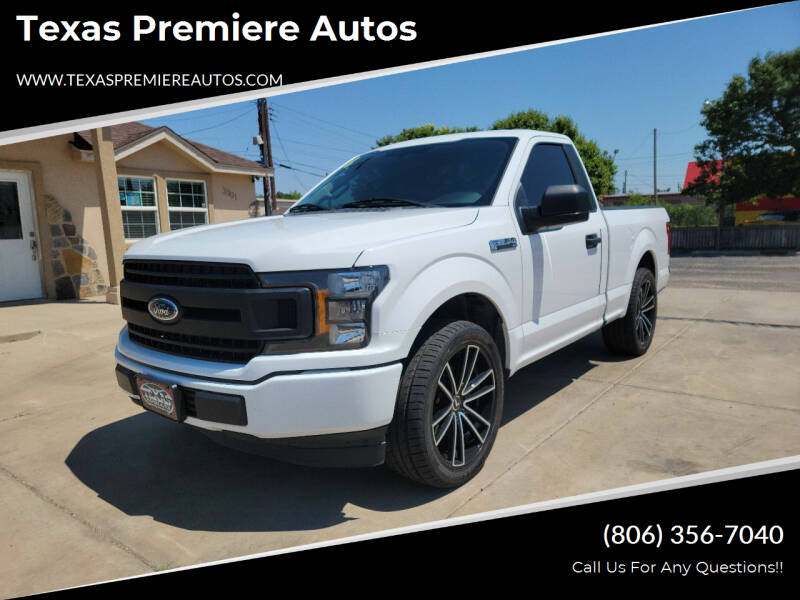 2018 Ford F-150 for sale at Texas Premiere Autos in Amarillo TX