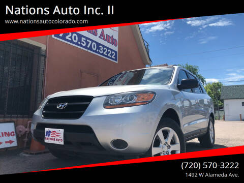 2009 Hyundai Santa Fe for sale at Nations Auto Inc. II in Denver CO