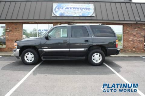 2004 GMC Yukon for sale at Platinum Auto World in Fredericksburg VA