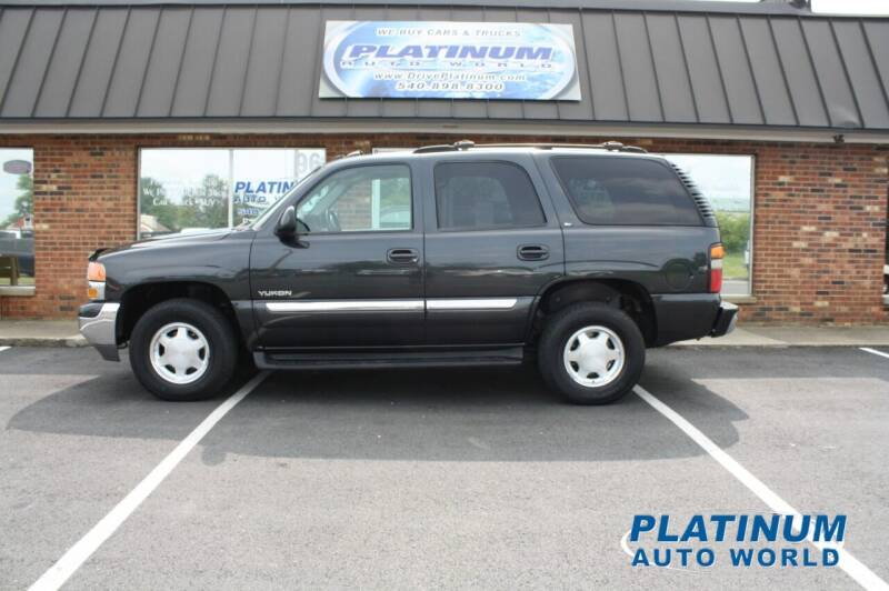 2004 GMC Yukon for sale at Platinum Auto World in Fredericksburg VA