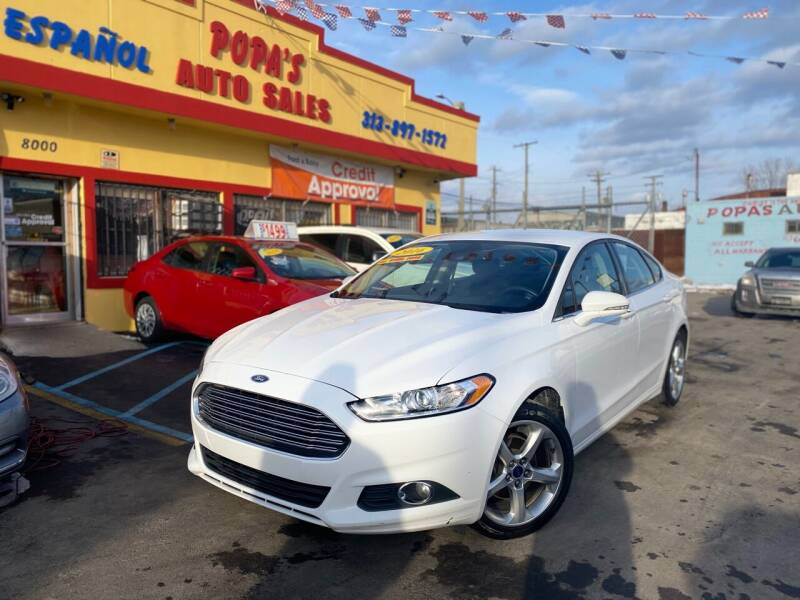 2016 Ford Fusion for sale at Popas Auto Sales in Detroit MI