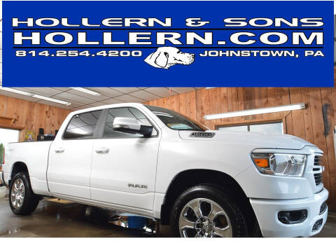 2021 RAM Ram Pickup 1500 for sale at Hollern & Sons Auto Sales in Johnstown PA