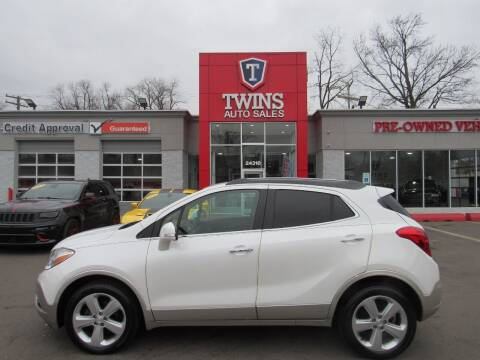 2015 Buick Encore for sale at Twins Auto Sales Inc in Detroit MI