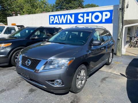 2014 Nissan Pathfinder for sale at Brucken Motors in Evansville IN