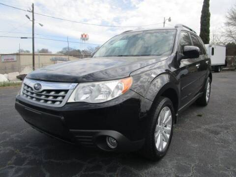 2011 Subaru Forester for sale at Lewis Page Auto Brokers in Gainesville GA