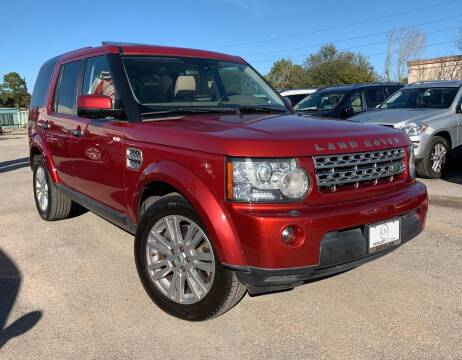 2010 Land Rover LR4 for sale at KAYALAR MOTORS in Houston TX