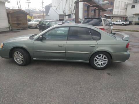 2004 Subaru Legacy for sale at Creekside Auto Sales in Pocatello ID