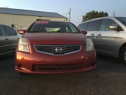 2012 Nissan Sentra for sale at BELOW BOOK AUTO SALES in Idaho Falls ID