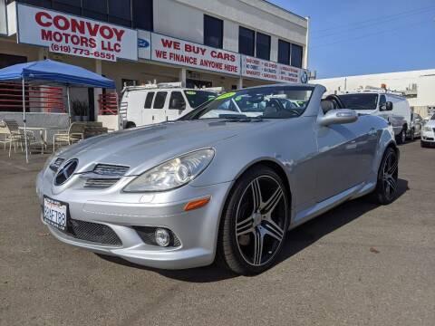 2005 Mercedes-Benz SLK for sale at Convoy Motors LLC in National City CA