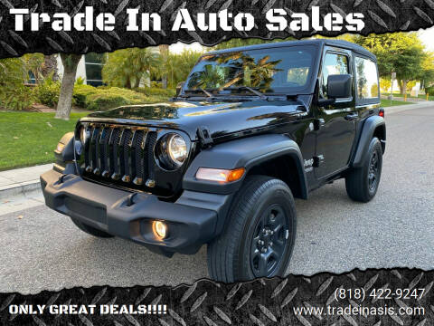 2018 Jeep Wrangler for sale at Trade In Auto Sales in Van Nuys CA