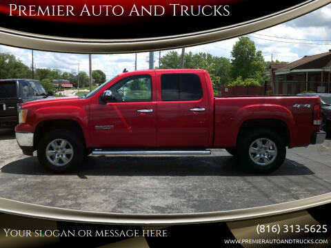 2011 GMC Sierra 1500 for sale at Premier Auto And Trucks in Independence MO