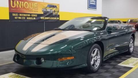 1995 Pontiac Firebird for sale at UNIQUE SPECIALTY & CLASSICS in Mankato MN