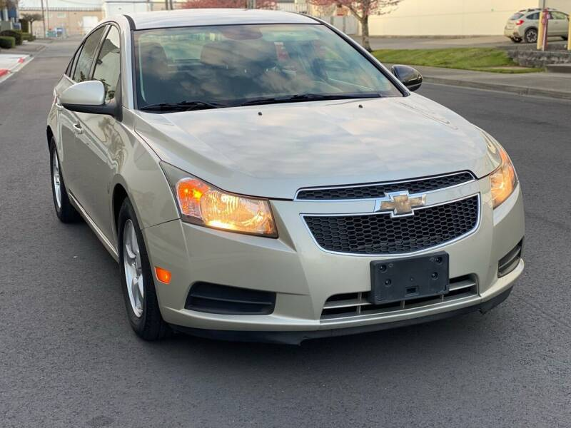 2013 Chevrolet Cruze for sale at Washington Auto Sales in Tacoma WA
