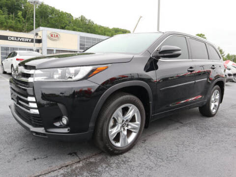 2019 Toyota Highlander for sale at RUSTY WALLACE KIA OF KNOXVILLE in Knoxville TN