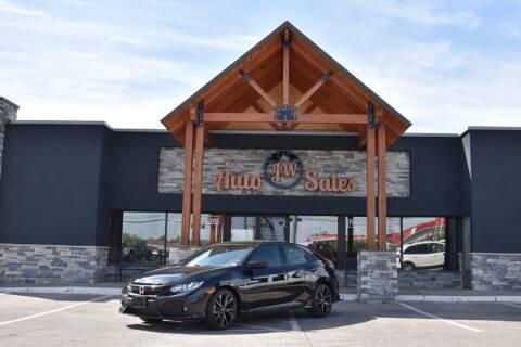 2018 Honda Civic for sale at JW Auto Sales LLC in Harrisonburg VA