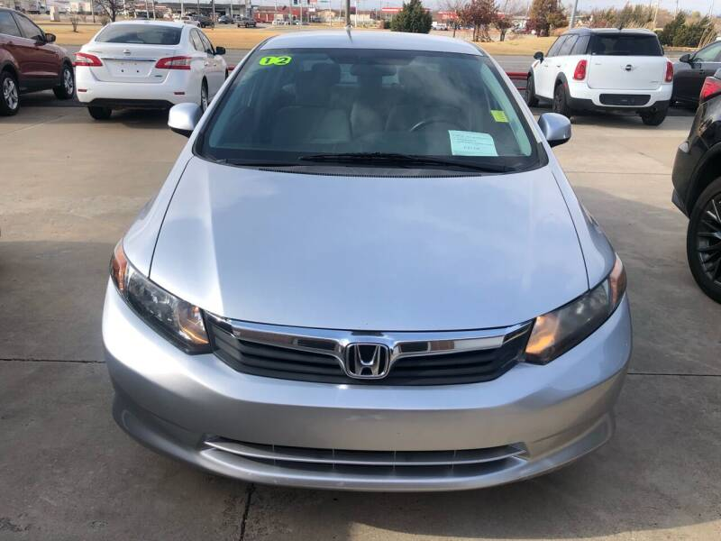 2012 Honda Civic for sale at Moore Imports Auto in Moore OK