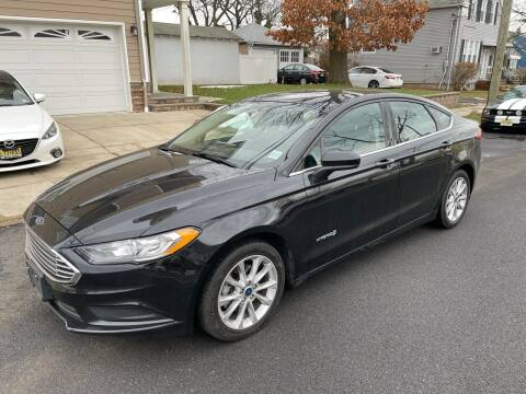 2017 Ford Fusion Hybrid for sale at Jordan Auto Group in Paterson NJ