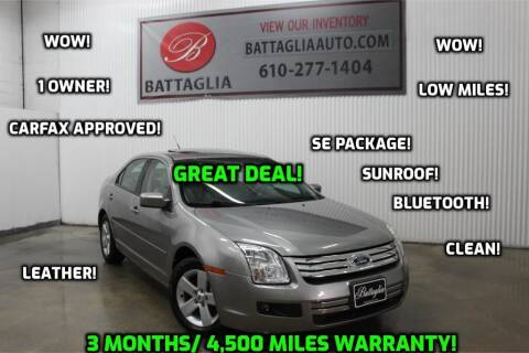 2009 Ford Fusion for sale at Battaglia Auto Sales in Plymouth Meeting PA