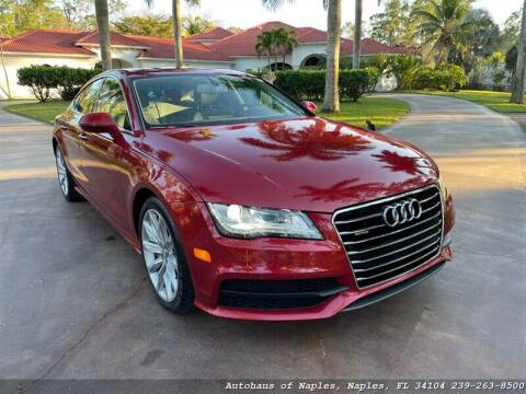 2012 Audi A7 for sale at Autohaus of Naples Inc. in Naples FL