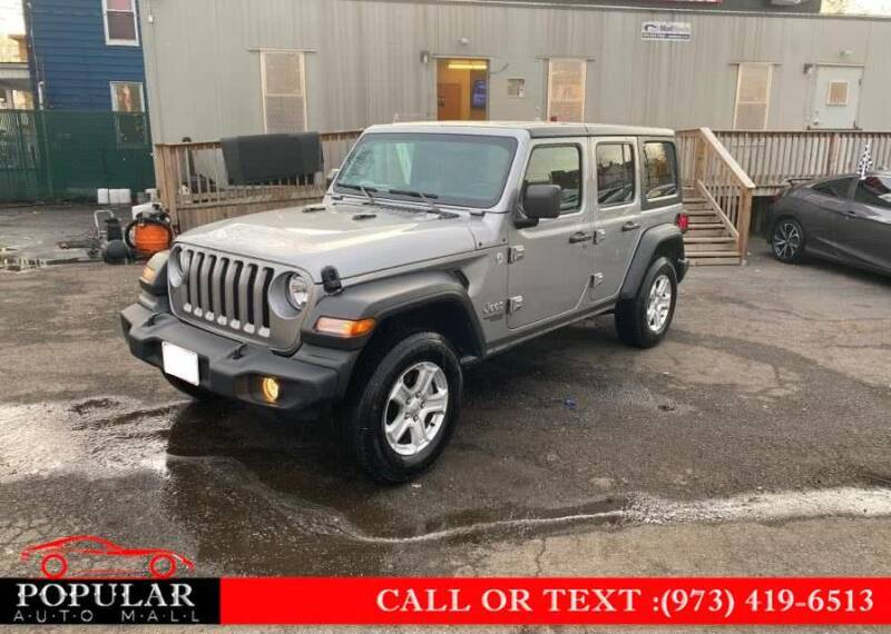 2020 Jeep Wrangler Unlimited for sale at Popular Auto Mall Inc in Newark NJ