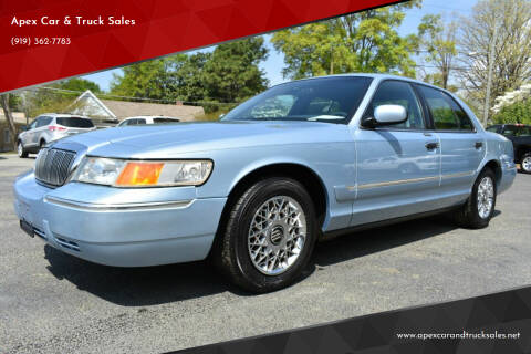 2000 Mercury Grand Marquis for sale at Apex Car & Truck Sales in Apex NC