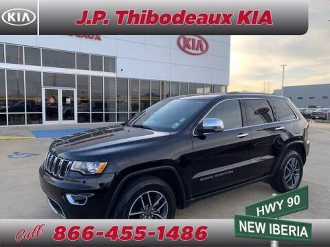 2019 Jeep Grand Cherokee for sale at J P Thibodeaux Used Cars in New Iberia LA